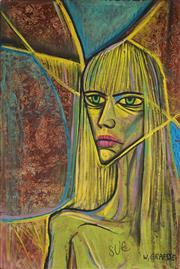 Sale 8947 - Lot 589 - Wolfgang Grasse (1930 - 2008) - Sue 92 x 61.5 cm