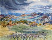 Sale 8972A - Lot 5011 - Jean Isherwood (1911 - 2006) - Valley View 47 x 60 cm