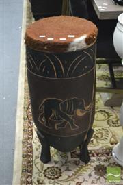 Sale 8347 - Lot 1019 - Tribal Hand Drum