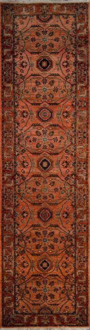 Sale 8370C - Lot 56 - Afghan Chobi 300cm x 80cm