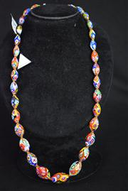 Sale 8396A - Lot 1 - Murano Glass Millefiori Necklace