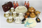 Sale 8436 - Lot 98 - Diana Nefertiti Dinner Wares with Other Items incl Olympic Coke Bottles