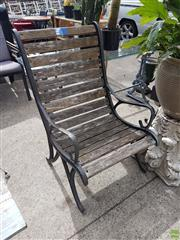 Sale 8601 - Lot 1212 - Pair of Large Outdoor Armchairs
