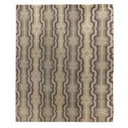 Sale 8870C - Lot 58 - Nepal Florence Broadhurst Swedish Stripe Design Carpet in Tibetan Highland Wool 302x250cm
