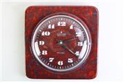 Sale 8963 - Lot 17 - Junghans Porcelain Wall Clock (20cm x 20cm) (small Crack)