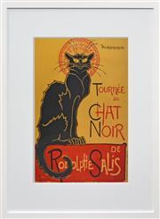 Sale 8330A - Lot 101 - Théophile Steinlen (1859 - 1923) - Tournée du Chat Noir, c.1896 71 x 51cm