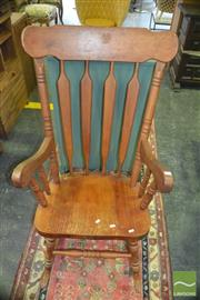 Sale 8383 - Lot 1325 - Timber Rocking Chair