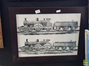 Sale 8552 - Lot 2032 - Locomotives Print