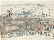 Sale 8838 - Lot 574 - John Olsen (1928 - ) - Tropical Rainshower, 1978 76 x 56cm