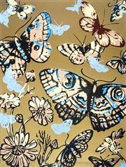 Sale 9032A - Lot 5031 - David Bromley (1960 - ) - Butterflies 76 x 55 cm (frame: 83 x 99 x 3 cm)