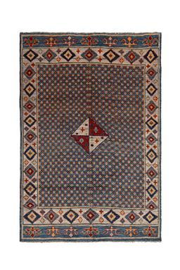 Sale 9090C - Lot 50 - Afghan Nomadic Beluch Rug, 190x280cm, Handspun Wool