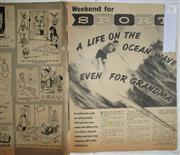 Sale 8431B - Lot 78 - Article, Life on the Ocean Wave, 2 pages in Weekend Magazine, December 22, 1959