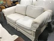 Sale 8805 - Lot 1071 - Pair of Modern Two & Half Seater Sofas