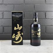 Sale 9062W - Lot 613 - The Yamazaki Distillery 18YO Single Malt Japanese Whisky - 43% ABV, 700ml in box