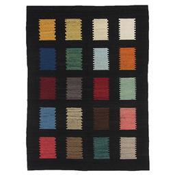 Sale 9090C - Lot 51 - Indian Rustic Soumak Carpet, 170x240cm, Handspun Wool