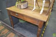 Sale 8390 - Lot 1229 - Rustic Timber Table