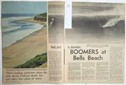 Sale 8431B - Lot 79 - Article, Best Surf in Australia, Boomers at Bells Beach, 3 pages in Australasian Post, January 6, 1966