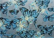 Sale 8597 - Lot 515 - David Bromley (1960 - ) - Butterflies 58.5 x 83cm (frame size: 91 x 115.5cm)