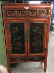 Sale 8717 - Lot 1007 - Chinese 2 Door Wardrobe