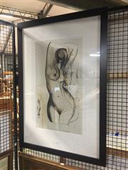 Sale 8751 - Lot 2096 - Brett Whiteley Decorative Print, 99 x 68cm (frame size)