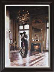 Sale 8778A - Lot 5019 - Rob Hefferan - Dancing 63 x 83.5cm (frame)