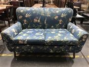 Sale 8787 - Lot 1039 - Vintage Floral Fabric 2 Seater Settee