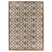 Sale 8870C - Lot 61 - Turkey Rewoven Kilim Carpet in Handspun Wool, Hemp & Goat Hair, 387x275cm