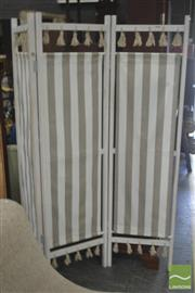 Sale 8284 - Lot 1059 - French Style Fabric Screen