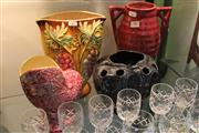Sale 8304 - Lot 80 - Diana Ceramic Vase with Others incl. Pates