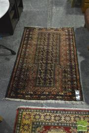 Sale 8398 - Lot 1098 - Persian Balouch (146 x 93cm)