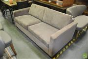 Sale 8440 - Lot 1033 - Fabric Fold Out Sofa Bed