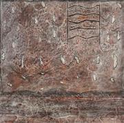 Sale 8467 - Lot 535 - Elwyn Lynn (1917 - 1997) - Raddled Snow, 1965 91 x 91cm