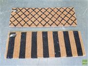 Sale 8472 - Lot 1020 - Two Modern Door Mats (120 x 40cm)