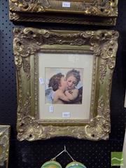 Sale 8474 - Lot 2063 - Framed Print of Angels