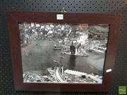 Sale 8552 - Lot 2100 - Harbour Bridge Aerial Picture