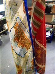 Sale 8663 - Lot 2150 - Two Silk Scarves