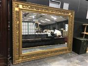 Sale 8893 - Lot 1008 - Large Gilt Framed Mirror (235cm x 170cm x 8cm)