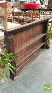 Sale 8375 - Lot 1009 - Rustic Oak Hanging Dresser