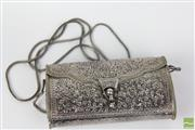 Sale 8481 - Lot 58 - Ladies Sterling Silver Purse