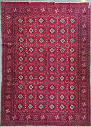 Sale 8672 - Lot 1082 - Afghan Bokhara (281 x 188cm)