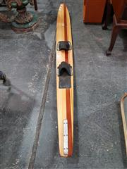 Sale 8717 - Lot 1058 - Vintage Timber Water Ski