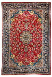 Sale 8372C - Lot 34 - A Persian Esfahan From Isfahan Region 100% Wool Pile On Cotton Foundation, 385 x 260cm