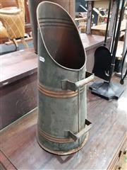 Sale 8740 - Lot 1032 - Copper Coal Scuttle