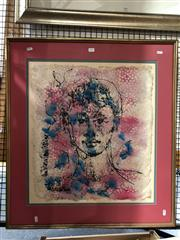 Sale 8819 - Lot 2086 - Artist Unknown - Portrait of a Young Boy ink and watercolour on paper