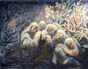Sale 8847A - Lot 5020 - Efim Novikov - Nocturn Misterioso 75 x 100cm