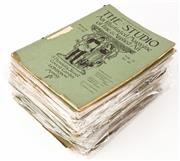 Sale 9048A - Lot 81 - A large quantity of The Studio from 1893 through 1902