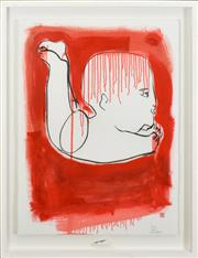 Sale 8301A - Lot 12 - Carlos Barrios (1966 - ) - Flying, 2004 76 x 57cm
