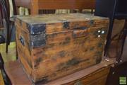 Sale 8390 - Lot 1214 - Rustic Timber Trunk