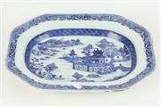 Sale 8417 - Lot 23 - Blue & White Shallow Platter