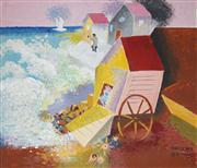 Sale 8583 - Lot 524 - Vincent Brown (1901 - 2001) - The Sad Sea Waves 64.5 x 74.5cm